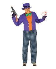 Verrückter Joker Herrenkostüm