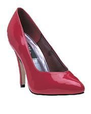 Patent pumps red