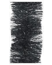 Tinsel garland - anthracite 2,7m