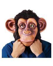 Latex Schimpansen Vollkopfmaske