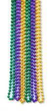 Mardi Gras necklaces large 12 St.