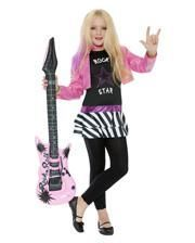 Mini Rockstar Kids Costume