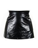 Mini skirt, leather-look Gr.M