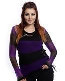 Miss Krueger sweater black-purple