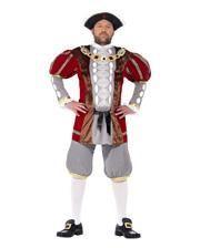 Mittelalter König Heinrich 8. Kostüm