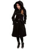 Moana Gothic Coat Black