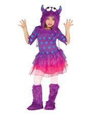 Monster Girl Costume Purple