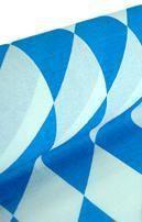 Niflamo diamond crepe white-blue