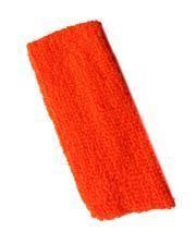 Neon Stirnband Orange