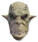 Ork Maske Schaumlatex hautfarben