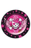 Papp-Teller Pirate Girl
