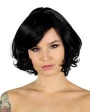 Wig black Vera