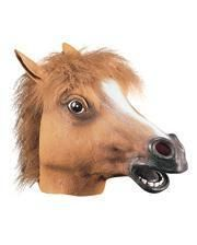 Horses latex mask