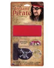 Pirate Set with Pirate teeth