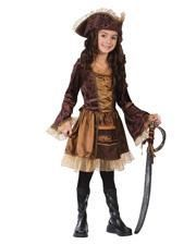 Pirate Lady Child Costume. M