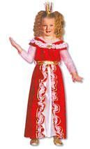 Princess Rose Red Costume