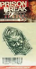 Prison Break Tattoo devil with Barcode