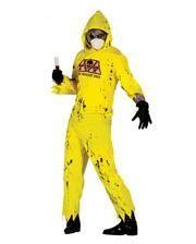 Radioaktiver Zombie Kostüm