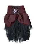 Tulle skirt with rhinestone application