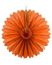 Rosette compartments orange 60 cm