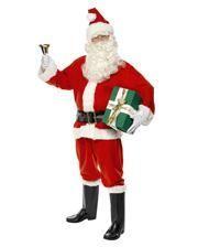 Santa Claus Kostüm Deluxe XL