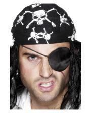 Satin Pirate Eye Patch