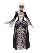 Schwarze Witwe Baronin Kostüm