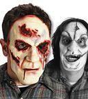 Serienkiller Mörder Maske einäugig
