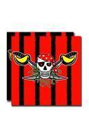 Servietten Red Pirate