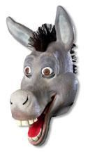 Shrek Esel Maske