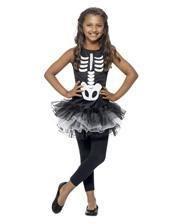 Skeleton Ballerina Child Costume