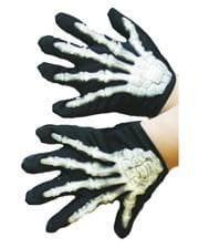 Skelett Kinderhandschuhe