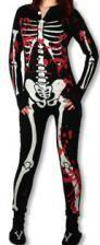Skelett Pyjama Bloody