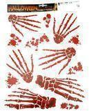 Skeleton Hand Sticker Set