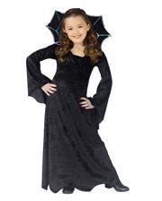 Spider Vampire Princess Child Costume Small