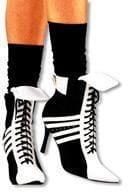 Sporty High Heel Boots