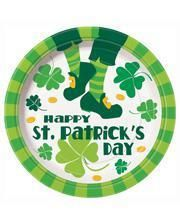 Happy St. Patrick's Day paper plates
