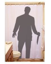Stalker shower curtain