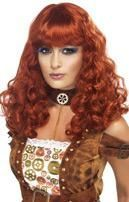 Steampunk Wig Copper Red