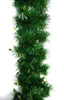Fir Garland with Golden Stars