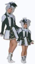 Carnival Dancing Girl Costume Black