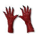 Teufels Handschuhe rot