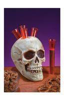 Skull for hard liquor