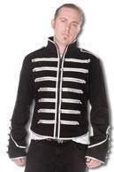 Uniform jacket black / silver
