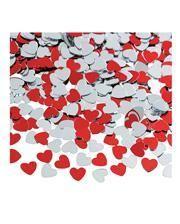 Valentinstag Herz Konfetti