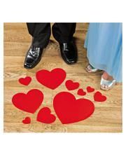 Valentine Heart Sticker floor