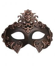 Ancient bronze-black eye mask