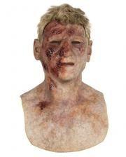 Burned Zombie Silikon Maske