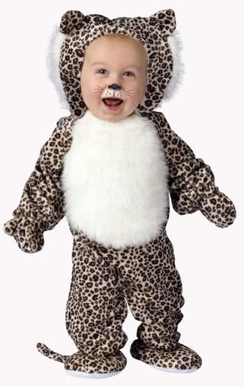 pl sch leopard babykost m large kuschelige tierkost me f r babys horror. Black Bedroom Furniture Sets. Home Design Ideas