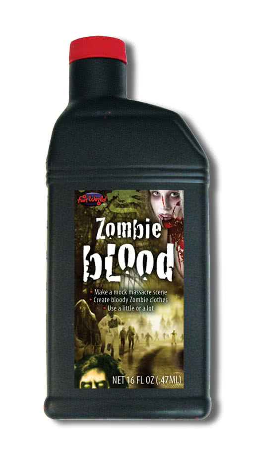 zombie kunstblut 470 ml g nstig filmblut kaufen horror. Black Bedroom Furniture Sets. Home Design Ideas